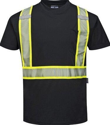 Portwest S396 Hi Vis Iona Xtra Premium Short Sleeved T-Shirt