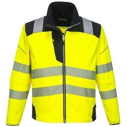 Portwest T402 PW3 Hi Vis Waterproof Softshell Jacket