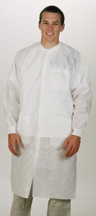 ValuMax 3460 Protection Lab Coat with Pockets