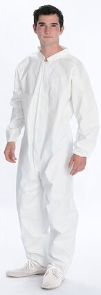 ValuMax 4702 Coolback LiquidGuard Coveralls with Elastic Cuffs - Compare To Tyvek!