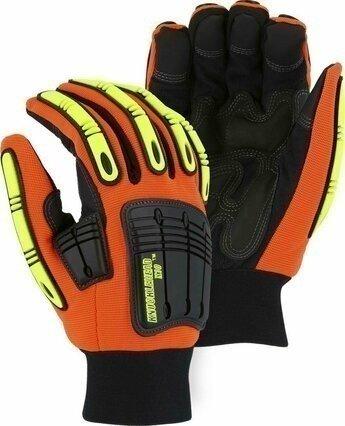 Majestic 21247 Knucklehead Waterproof Thinsulate Lined Hi Vis Gloves