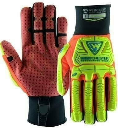 West Chester R2 87000 Rigger Gloves with Dotted Palm