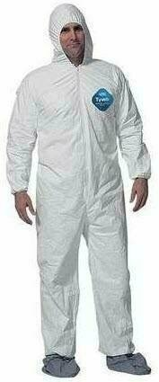 Dupont Tyvek Coveralls with Hood and Boots #TY122