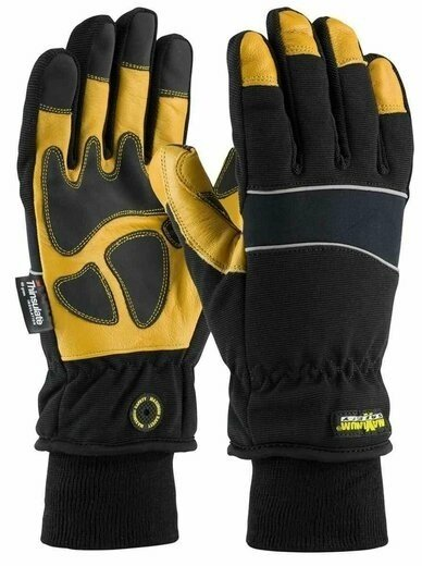 PIP Maximum Safety 120-4800 Thinsulate Lined Glove with Waterproof Barrier and Goatskin Leather Palm