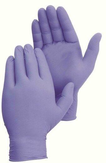 Duraskin 2026W 4 Mil Blue Violet Nitrile Powder Free Gloves