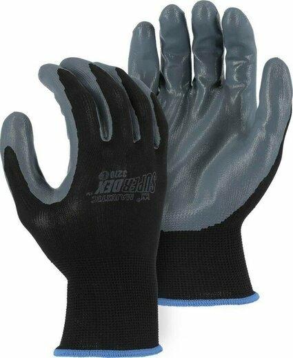 Majestic 3270 M-Safe Black Nitrile Gloves