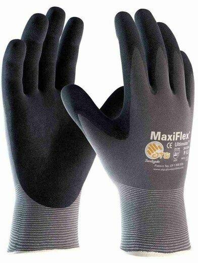 PIP MaxiFlex Ultimate 34-874 Nitrile Coated Micro Foam Grip Gloves