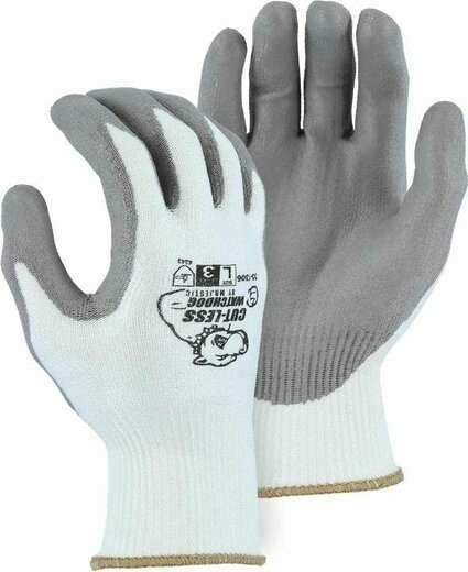 Majestic 35-1306 Cut-Less Watchdog® Seamless Knit Cut Level 3 Gloves - Compare to PIP G-Tek 16-D622