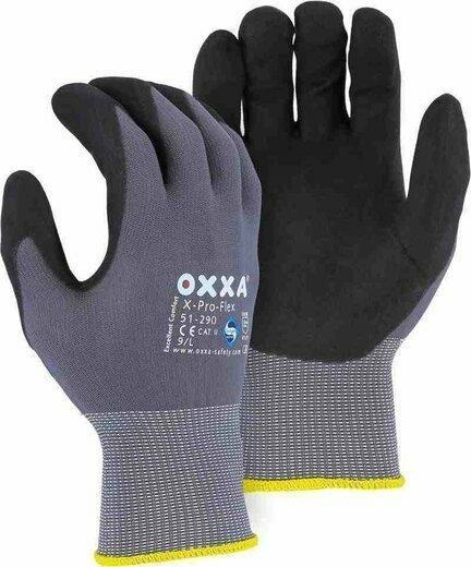 Majestic 51-290 OXXA X-PRO-Flex Foam Nitrile Palm Gloves