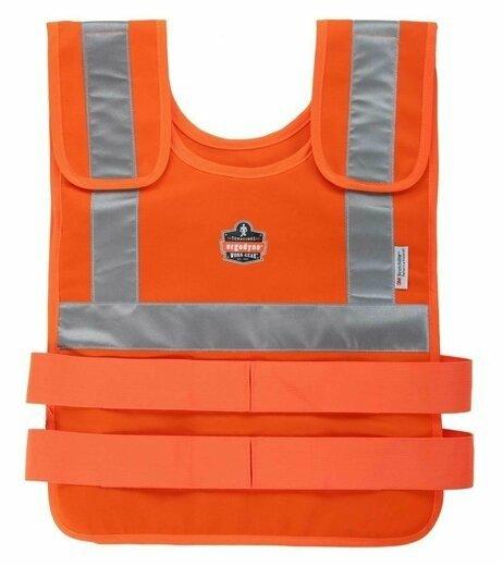 Ergodyne Chill-Its 6200 Hi Vis Orange Phase Change Cooling Vest
