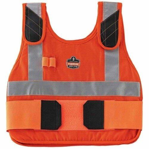 Ergodyne Chill-Its 6225HV Orange Phase Change Premium Cooling Vest- Vest Only