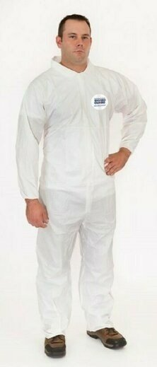Enviroguard 8012 MicroGuard MP Coveralls with Elastic Wrist & Back - Compare to Tyvek