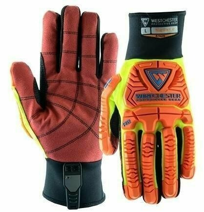 West Chester R2 87020 Rigger Glove with Cut Resistant PVC Palm