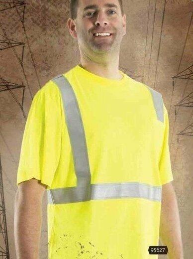 Majestic 95627 FR Short Sleeve T-Shirt - ANSI 2
