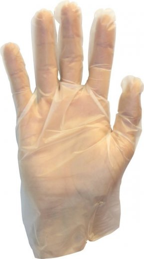 Safety Zone Micro-Textured Poly Vinyl Powder Free Gloves