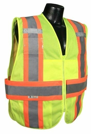 Radians SV23-2 Class 2 Expandable Two Tone Safety Vest