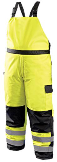 Occunomix ANSI Type R Class E High Visibility Winter Bib Pants LUX-WBIB