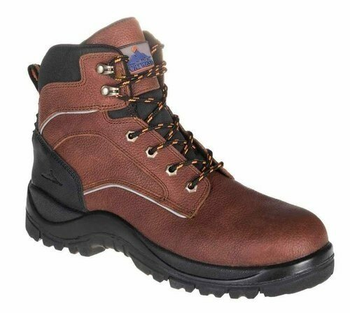 Portwest UFT69 Leather Steelite Ohio Safety Boot EH with Protective Steel Toecap