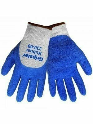 """Global Glove """"Atlas Style"""" Gripster #330 Rubber 3/4 Dipped Gloves"""