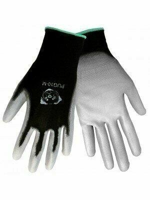 "Global Glove ""Atlas 370 Style"" PUG-10 Gray Polyurethane Dip Gloves"