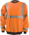 Occunomix 9oz High Visibility Crew Sweatshirt
